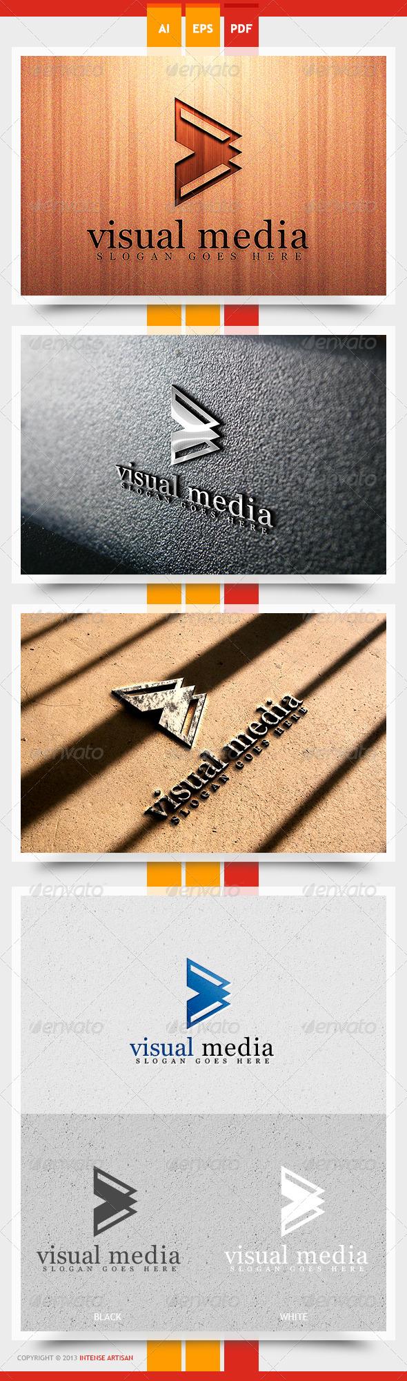 GraphicRiver Visual Media Logo Template 5652931