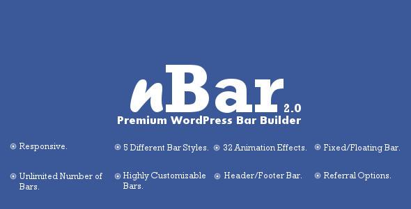 CodeCanyon nBar Advanced WordPress Multipurpose Bar Builder 5604305