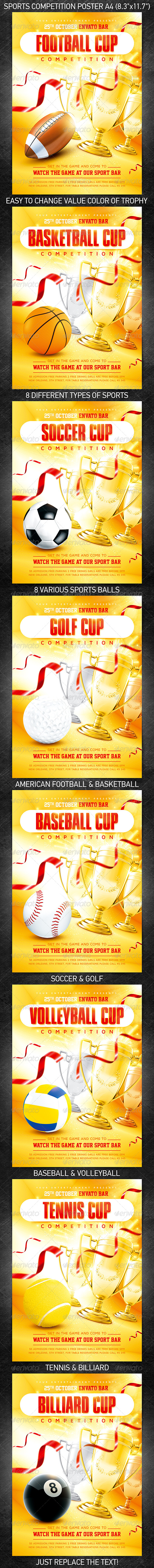 GraphicRiver Sports Competition Poster 5653527