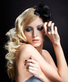 beautiful blonde in veil - PhotoDune Item for Sale