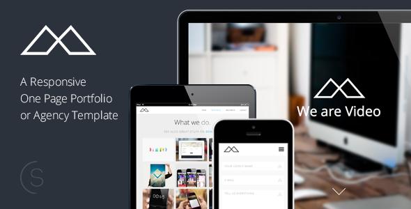 HALFCREATIVE - Responsive One Page HTML Template - Portfolio Creative