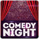 Comedy Night Flyer Template - GraphicRiver Item for Sale
