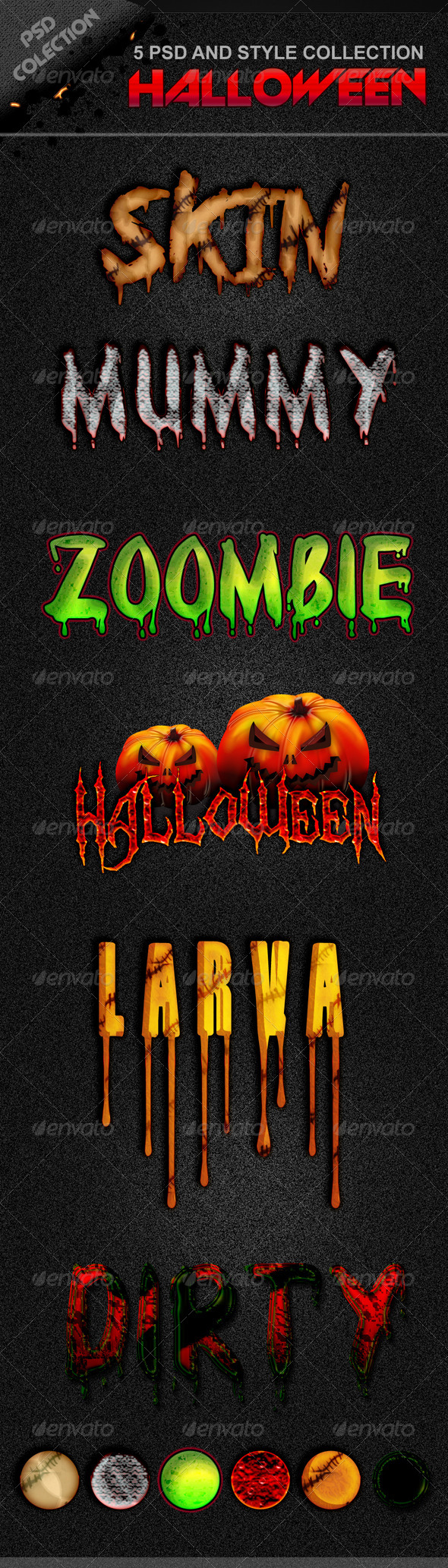 GraphicRiver Halloween Style 5651252