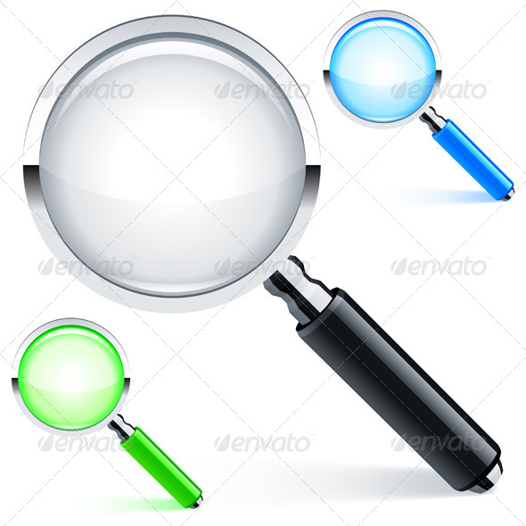 Magnifying Glass - Man-made objects Objects