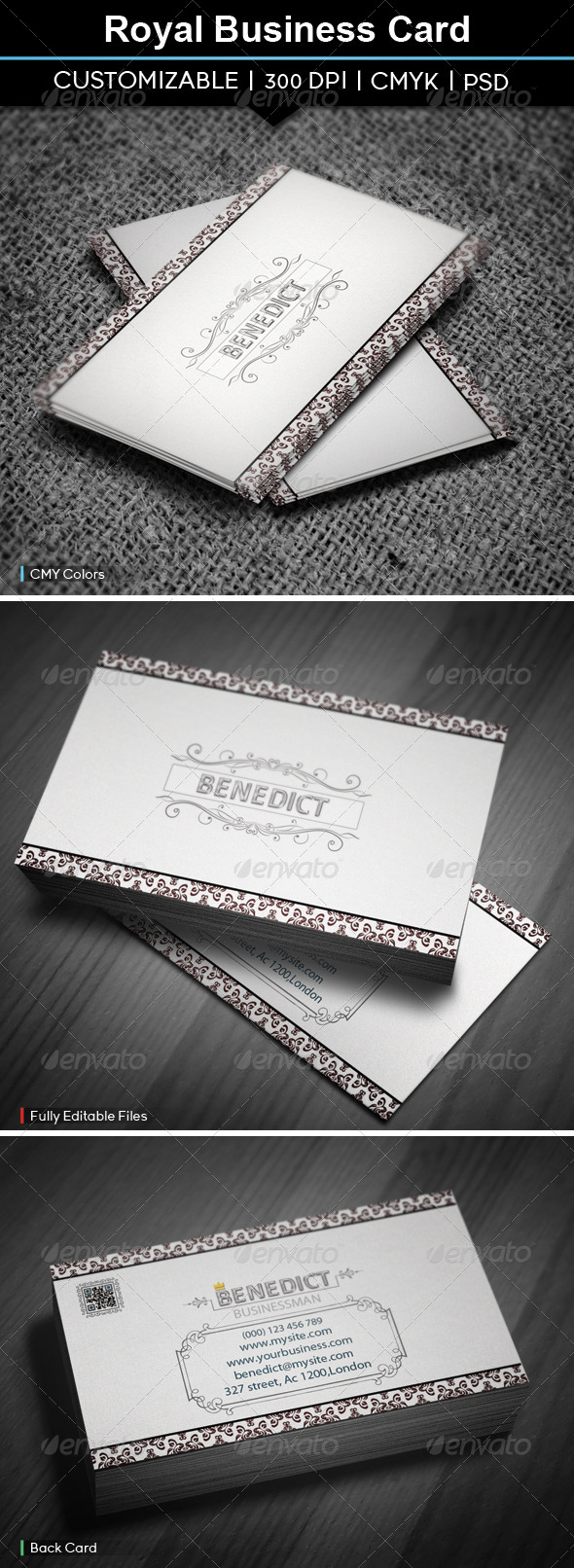 GraphicRiver Royal Business Card 5656188