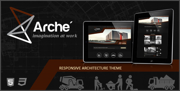 ThemeForest Arctek Architecture Creative Template 5337063