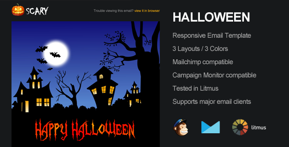 ThemeForest Scary Halloween Email Campaign Template 5647878