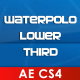 Waterpolo Lower Third - VideoHive Item for Sale