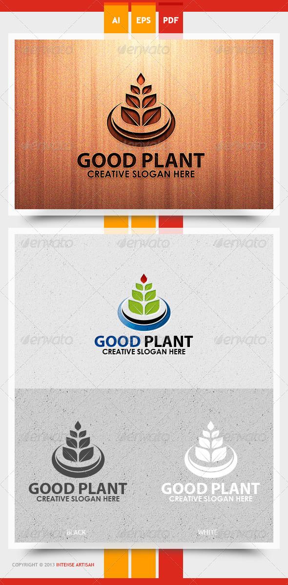 GraphicRiver Good Plant Logo Template 5657054
