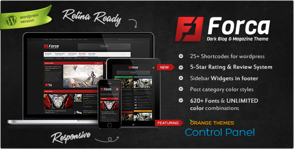 Forca - Responsive News/Magazine Theme