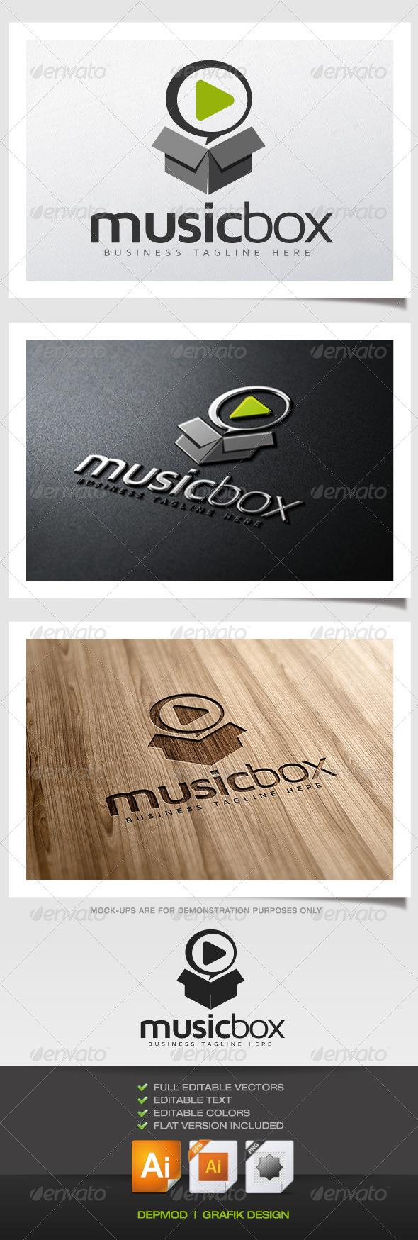 GraphicRiver Music Box Logo 5657918