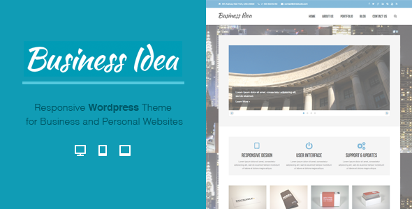 Business Idea - Multi-Purpose Responsive Theme