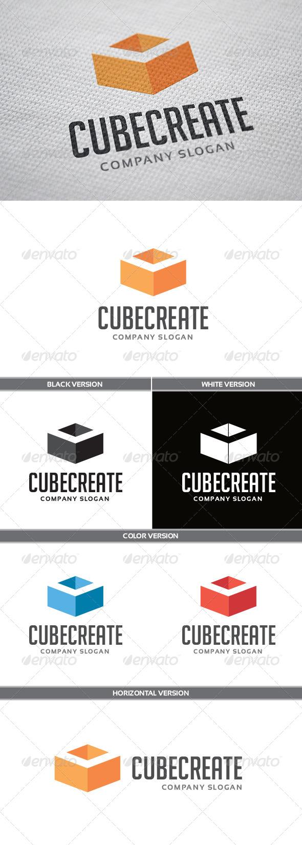 GraphicRiver CubeCreate Logo 5658624