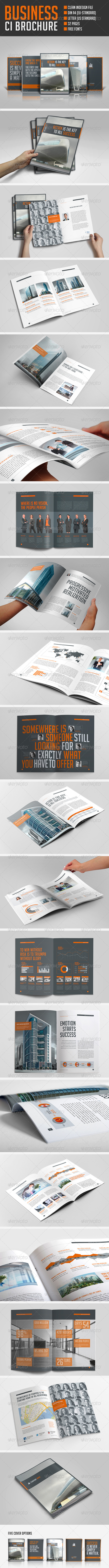 GraphicRiver Business Brochure 5659872