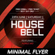 Minimal Flyer - House Bell - GraphicRiver Item for Sale