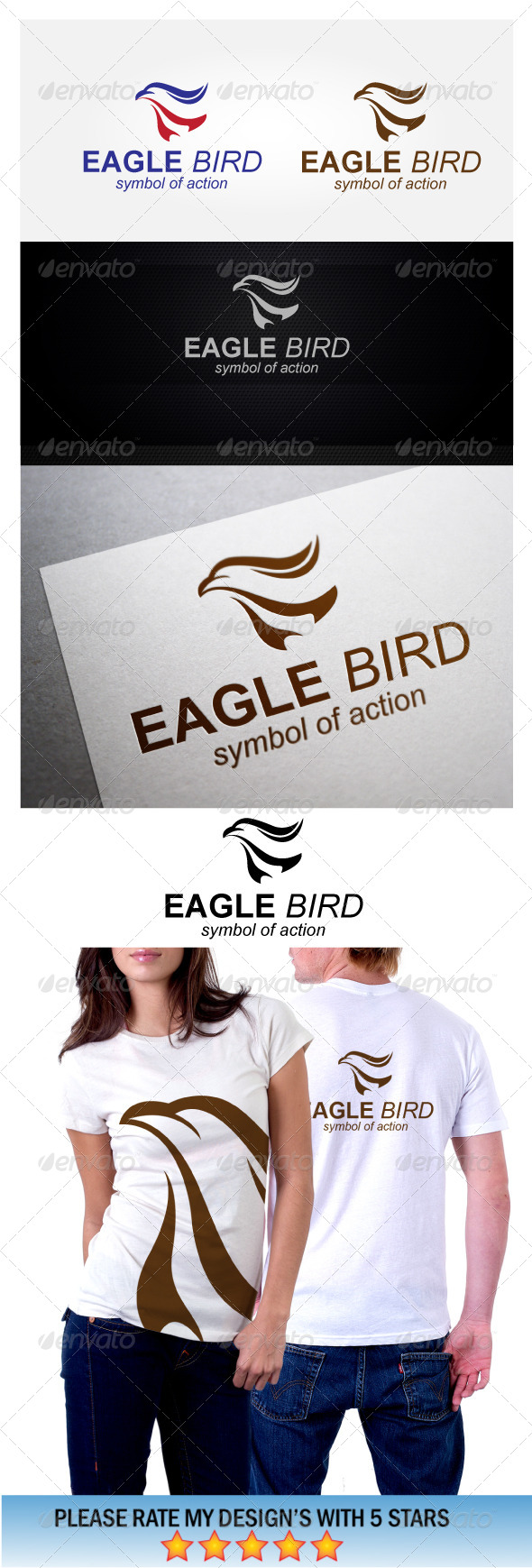 Eagle Bird Symbol Action