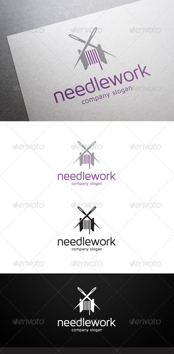 GraphicRiver Needlework Logo 5663371