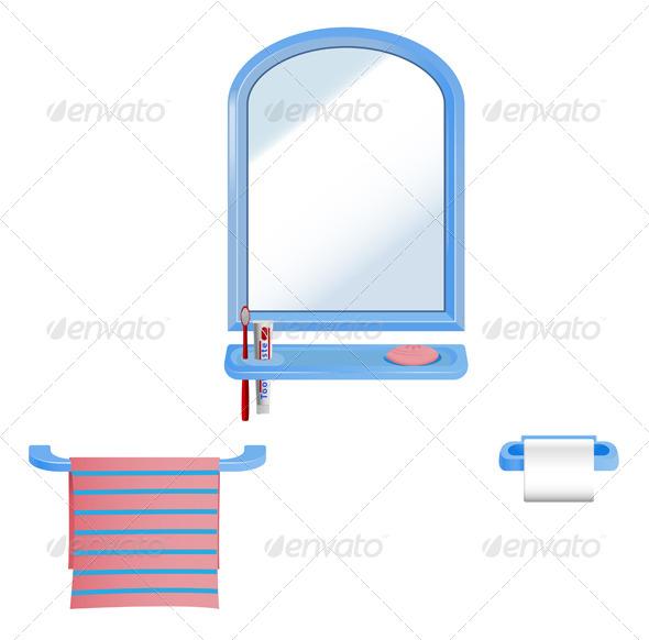 GraphicRiver Bathroom Set 5663394