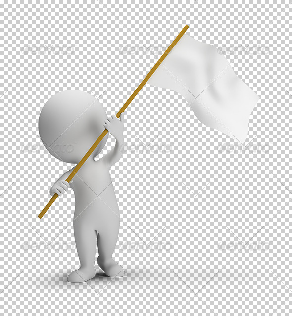 GraphicRiver 3D Small People Flag 5663594
