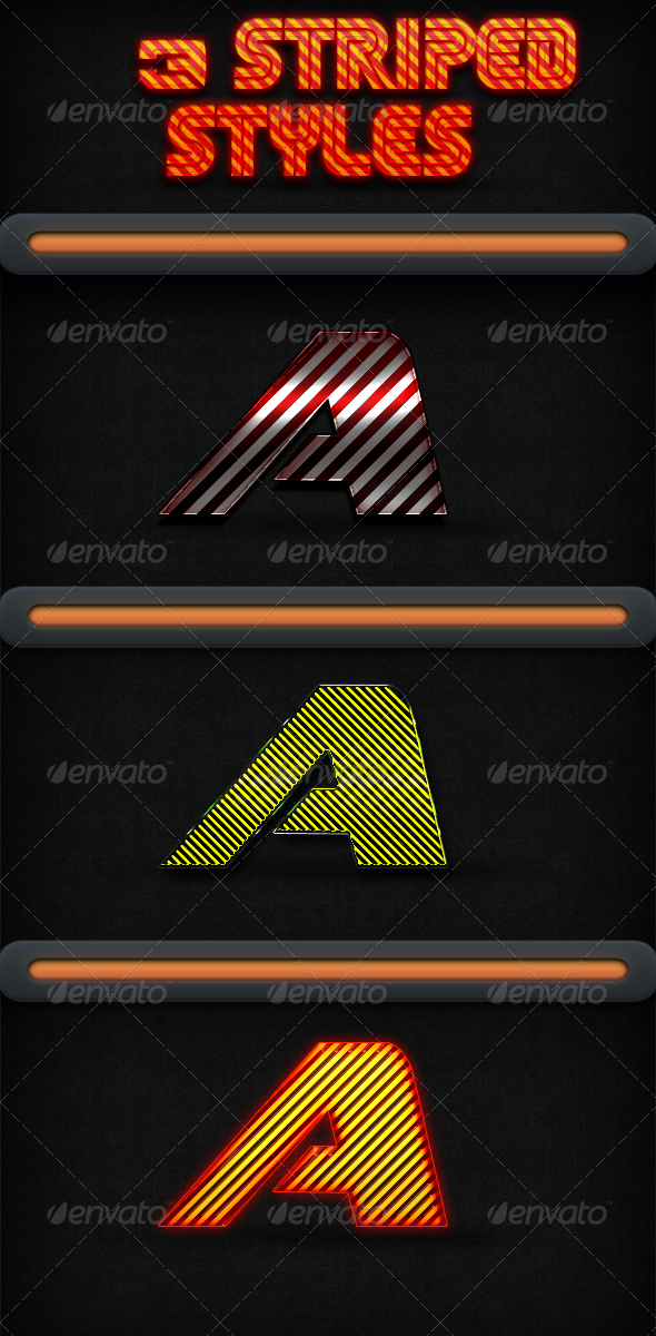 GraphicRiver 3 Striped Styles 5663859