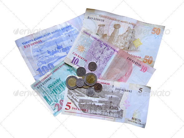 Turkish money - Stock Photo - Images