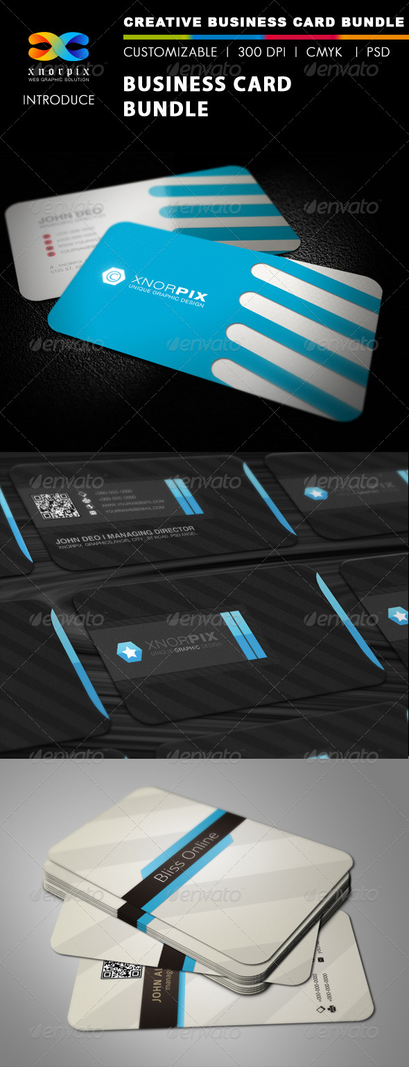 GraphicRiver Business Card Bundle 3 in 1-Vol 29 5664001