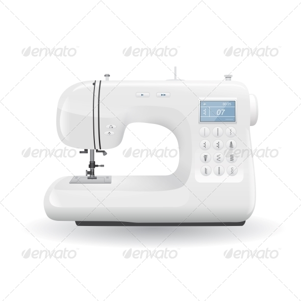 GraphicRiver Sewing Machine 5664414 Created: 23