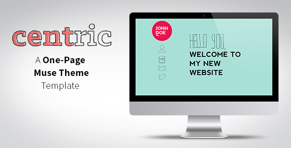 Centric - One Page Muse Theme