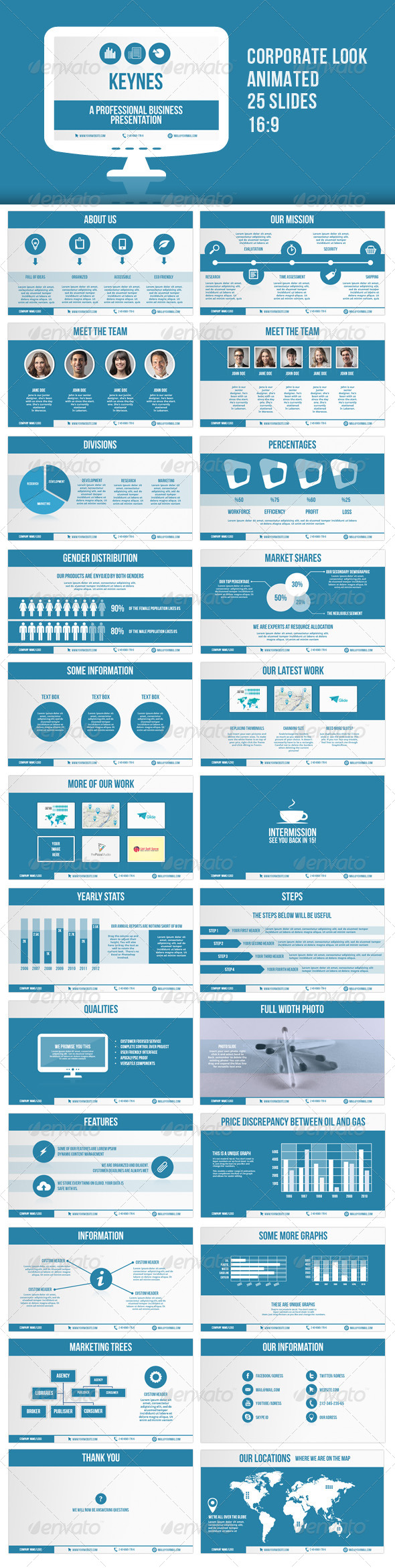 GraphicRiver Keynes Corporate Presentation 5665284