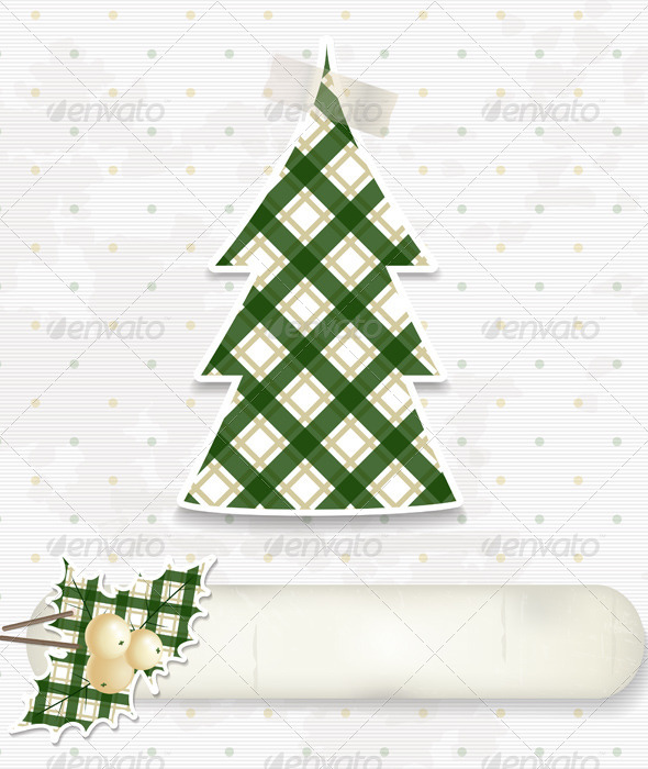 GraphicRiver Christmas Scrapbooking Background 5665382
