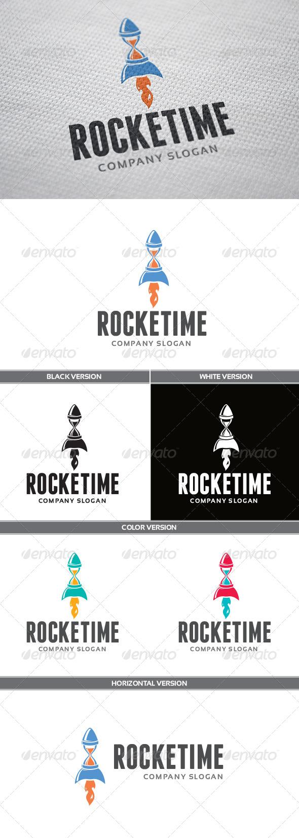 GraphicRiver Rocketime Logo 5665898