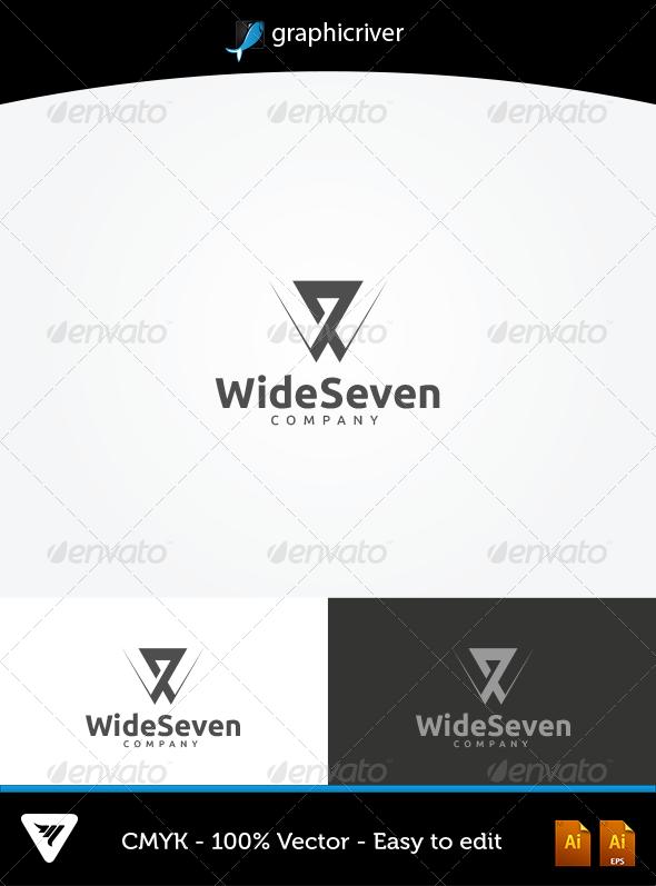 GraphicRiver WideSeven Logo 5666434