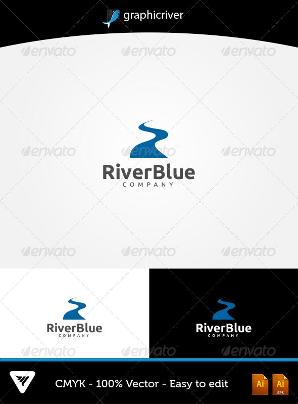 GraphicRiver RiverBlue Logo 5666532