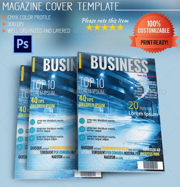GraphicRiver Business Magazine Cover Vol.2 5667814