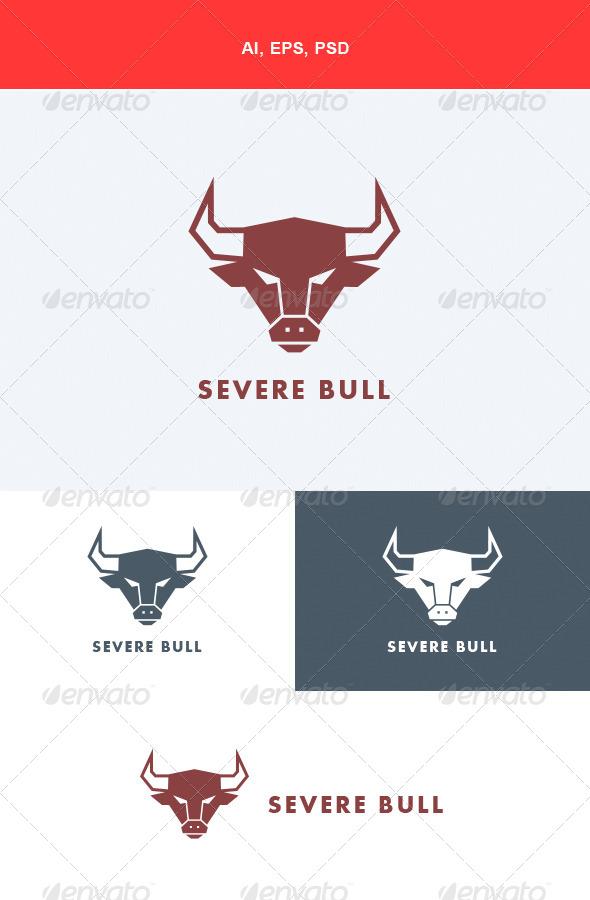 GraphicRiver Severe Bull Logo 5668412