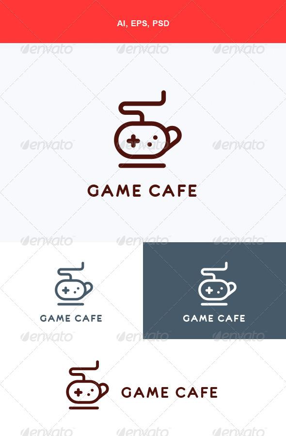 GraphicRiver Game Cafe Logo 5668452