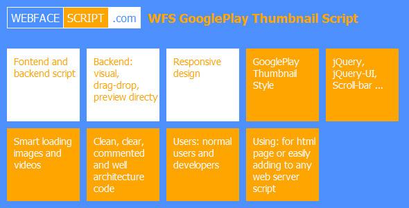 CodeCanyon WFS GooglePlay Thumbnail Script 5651670