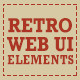 Retro Web UI Elements - GraphicRiver Item for Sale