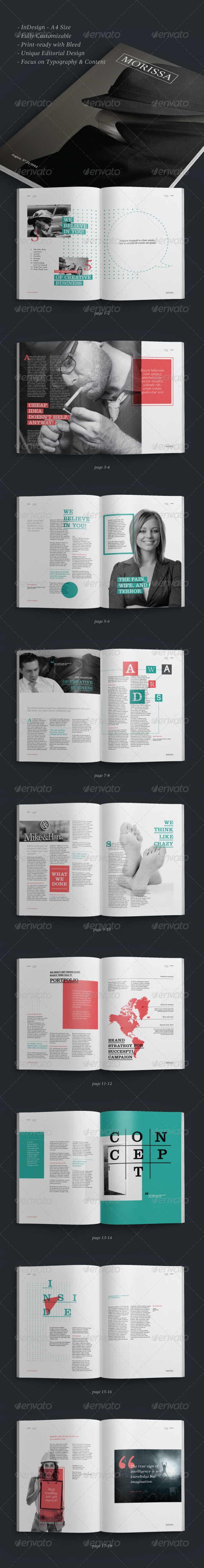 GraphicRiver Minimal Multipurpose Brochure 5669548