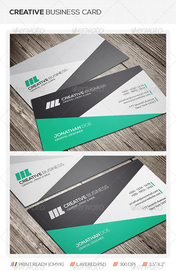 GraphicRiver Creative Business Card 5669622