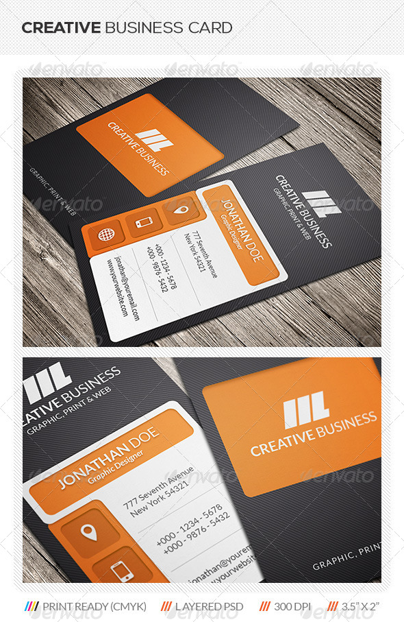 GraphicRiver Creative Business Card Template 5669677