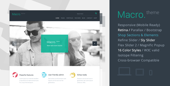 Macro - Multipurpose HTML5 Template