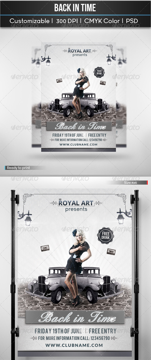 GraphicRiver Back In Time 5671756