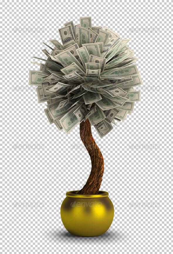 GraphicRiver Money Tree 5672004
