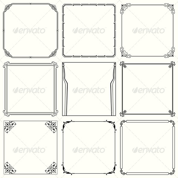 GraphicRiver Decorative Frames 5491308