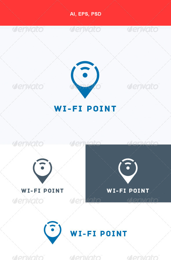 GraphicRiver Wi-Fi Point Logo 5672554