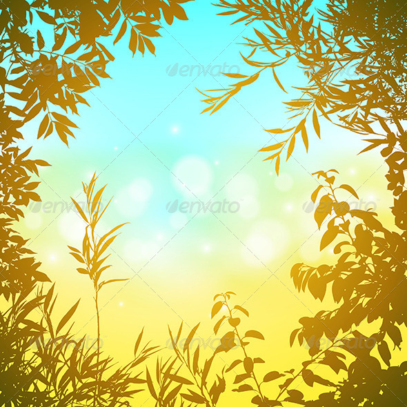 GraphicRiver Floral Background 5672633