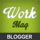 Workmag - Responsive Multipurpose Blogger Template - ThemeForest Item for Sale