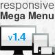 responsive Mega Menu - CodeCanyon Item for Sale