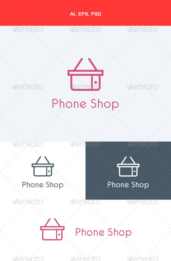 GraphicRiver Phone Shop Logo 5673139